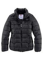 Flashlights Women's Quilted Padded Jacket Coat Size 20 BNWT Black Uk Freepost