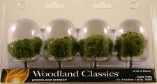 "Woodland Scenics Woodland Classics Tr3591 2 - 3"" Apple Trees 4 Pk"