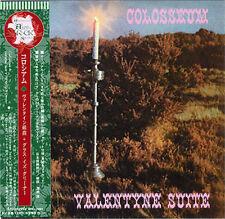COLOSSEUM VALENTYNE SUITE + THE GRASS IS GREENER CD MINI LP OBI