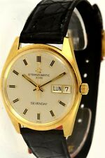 Eterna-Matic Sevenday Oro 18KT 1965 - Calibro 1501K NEW (NOS)