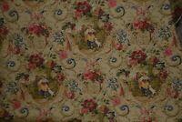 Rare Richloom Vintage FRAGONARD TOILE ROMANTIC FRENCH SHABBY PASTORAL fabric