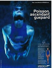 Publicité Advertising 1996 Les maillots de bain Speedo