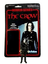"Funko ReAction Horror Series Super7 THE CROW Eric Draven Retro 3.75"" Figure"