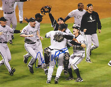 CHRIS WIDGER 'CHICAGO WHITE SOX' 2005 WS CHAMPS SIGNED 8X10 PICTURE *COA