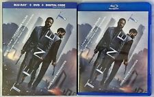 TENET BLU RAY DVD 3 DISC SET + SLIPCOVER SLEEVE FREE WORLD WIDE SHIPPING BUY NOW
