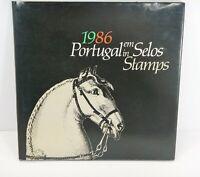 Portugal Em Selos IN STAMPS 1986 YEAR BOOK - EUC