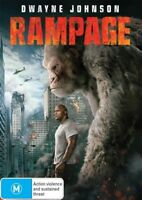 Rampage Dwayne Johnson BRAND NEW R4 DVD   HOT