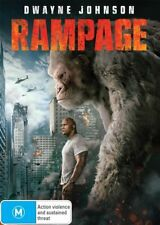 Rampage Dwayne Johnson BRAND NEW R4 DVD