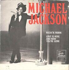 "#17 Michael Jackson Rockin' Robin (7"" Suède - 1972)"