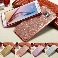 Bling Glitter Case Cover For Samsung J5 J7 2015 2016 2017 A750 A20 A30 A50 2019