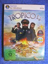 PC DVD Rom Spiel Tropico 4 (PC, 2011, DVD-Box) Strategie