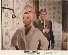 SOPHIA LOREN  GREGORY PECK  ARABESQUE 1966 VINTAGE LOBBY CARD #4