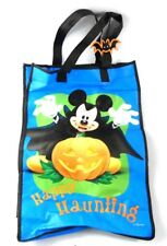 Mickey Mouse Vampire Happy Halloween Large blue Tote Trick or Treat bag with Tag