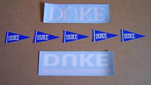 Duke University Blue Devils Sticker Decal Lot National Champions 7 Total