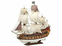 Revell 05605 Pirate Ship Model Kit Vintage Gift Craft Galleon Boat Create