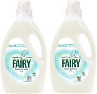2x Fairy Fabric Conditioner - Ideal for Sensitive Skin 2.905L - 83 Washes