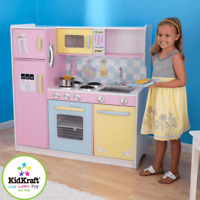 NEW KidKraft Large Pastel Kitchen Girls Kids Pretend Play Cooking Fun 53181