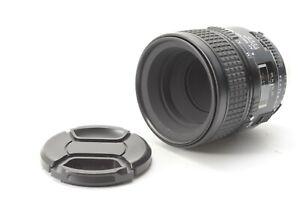 Nikon Nikkor AF 60mm F/2.8 D Lens - With Front and Rear Lens Caps