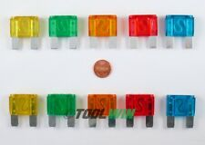 10pc Maxi Car Blade Fuse Box Assortment Set Auto Maximum