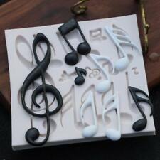 Music Note Silicone Mold Cake Fondant Flexible Bakeware Soap Diy Mould Crafts