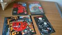 Jackass volume 2 + The Movie dvd special collectors edition 5 hrs of bonus