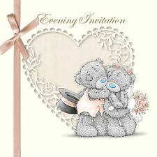 Me to You Wedding Evening Reception Invite Card Dates Names Pack of 6