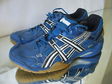 Blue ASICS Men's GEL-Domain 2 Court Volleyball Tennis Shoes Sz 8 US