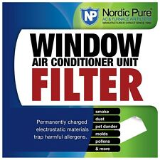 Window Air Conditioner Electrostatic Cut Trim Fit Filter Sheet Pollen Allergies