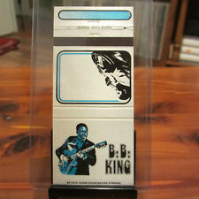 BB KING Fan Club Promotional Matchbook Cover Only; 1970s Universal Match Memphis