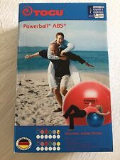 NEW BOXED TOGU POWERBALL/YOGA EXERCISE BALL 55CM BLUE