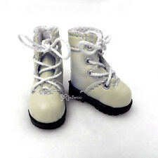 "16cm Lati Yellow Basic Bjd 12"" Blythe Pullip Doll Shoes High Hill Boots Blonde"