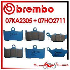 Pastiglie Freno BREMBO Ant CC + Post CC TRIUMPH STREET TRIPLE R 675 2009 2010 10