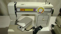Vintage WHITE 1505 Heavy Duty Sewing Machine Zigzag TESTED with foot pedal