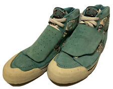 VTG RARE 80's Airwalk 'Peace' Suede/Canvas High Top Skateboard Shoes Size 11