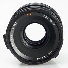 Hasselblad Zeiss CF 100mm F3.5 T* Planar Manual Focus Prime Lens