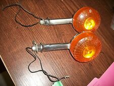 HONDA CB 650  TURN SIGNALS  SET OF 2  NICE CHROME ! CB 750 550 500 900