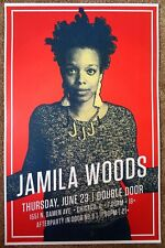 JAMILA WOODS 2016 Gig POSTER Chicago Illinois Concert