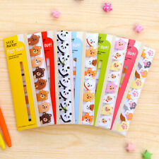 2pcs //120Pages Paper Sticky Notes Memo Pad Bookmark Sticker Notepad Station H5A5