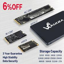 """2.5"""" MSATA M.2 2242 / 2280 SSD SATA III Internal Solid State Drive Lot 6Gb/s DH"""