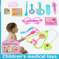 Kids Role Pretend Play Doctor Nurses Children Toy Medical Set Educational Gifts