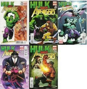 Hulk Smash Avengers Limited Series  #1-5 Marvel (2012) VF/NM
