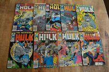 Incredible Hulk #337-339 341 343 344 346 347 349 (Marvel) McFarlane Lot of 9 NM