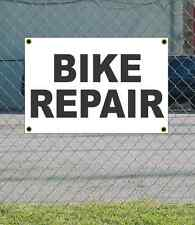 2x3 BIKE REPAIR Black & White Banner Sign NEW Discount Size & Price FREE SHIP