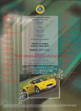 Lotus Finance Example 1999 Magazine Advert #7574