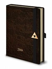 A5 Premium Map Hyrule Legend Of Zelda Notebook Journal Pad Leather Look Gift