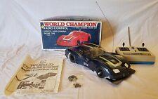 Tsukuda Chevrolet Corvette Stingray 1:12 Pan Car Vintage RC World Champion Rara