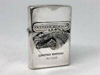 Rare! ZIPPO 1998 Limited Edition GODZILLA Trick Lighter (Opens Mouth) No.1545