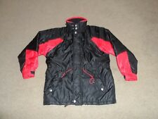 Marlboro winter coat ski jacket size Small red and black medium