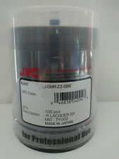 100 Pack JVC DVD-R 8X Recordable Discs TYG02