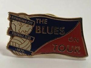 Birmingham City Football Club The Blues On Tour Enamel Pin Badge